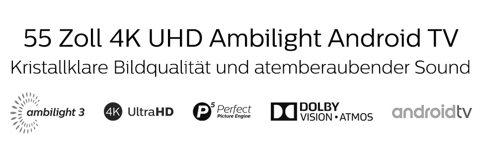 banehsolin Philips 55PUS8804 4K UHD LED Android Smart